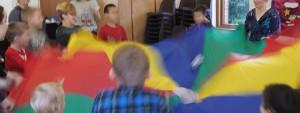 Kids' Parachute Fun